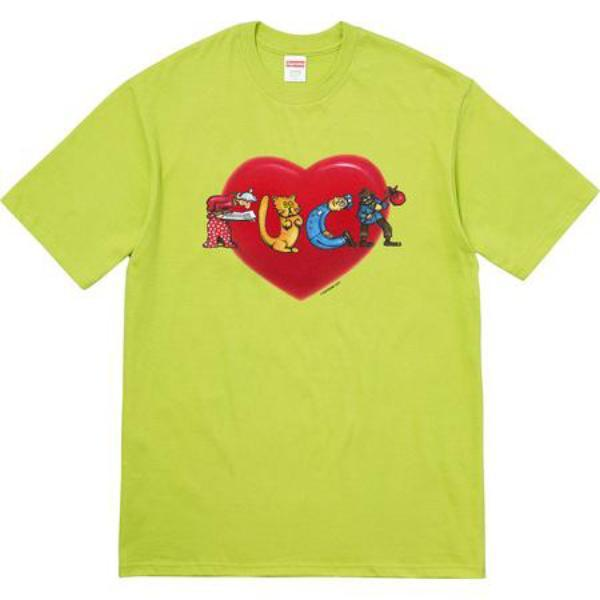 Supreme Fuck Love Tee Lime-Urban Necessities