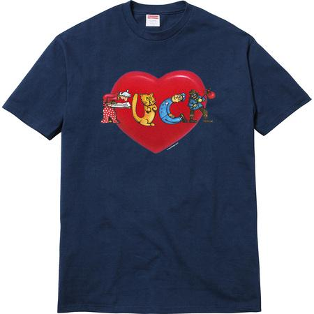 Supreme Fuck Love Tee Navy-Urban Necessities