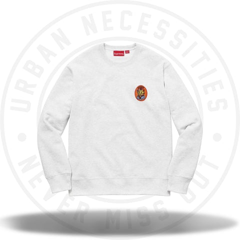 Supreme Ganesh Crewneck Ash Grey-Urban Necessities