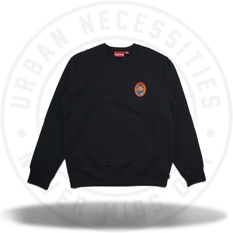 Supreme Ganesh Crewneck Black-Urban Necessities