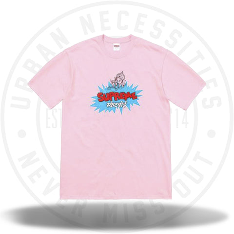 Supreme Ganesha Tee Light Pink-Urban Necessities