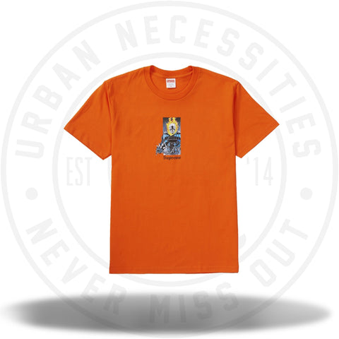 Supreme Ghost Rider Tee Orange-Urban Necessities