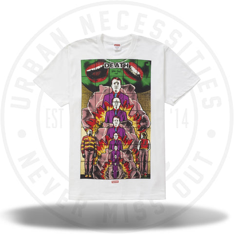 Supreme Gilbert and George LIFE Tee White-Urban Necessities