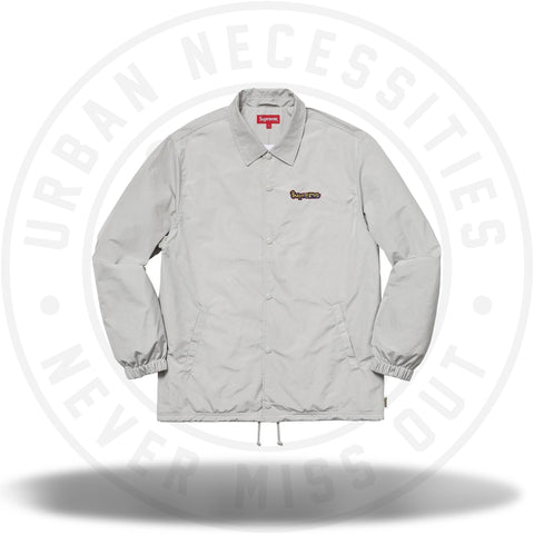 Supreme Gonz Logo Coaches Jacket Grey-Urban Necessities