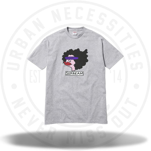 Supreme Gonz Tee Heather Grey-Urban Necessities