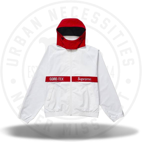 Supreme GORE-TEX Court Jacket White-Urban Necessities