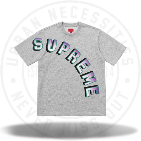 Supreme Gradient Arc Top Heather Grey-Urban Necessities