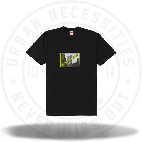 Supreme Greetings Tee Black-Urban Necessities