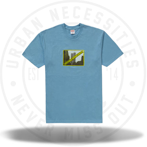 Supreme Greetings Tee Light Slate-Urban Necessities