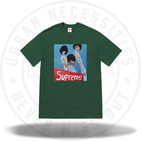 Supreme Group Tee Dark Green-Urban Necessities