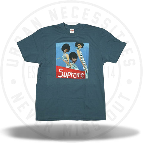 Supreme Group Tee Slate-Urban Necessities