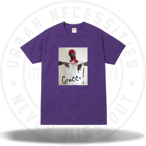 Supreme Gucci Mane Tee Purple-Urban Necessities