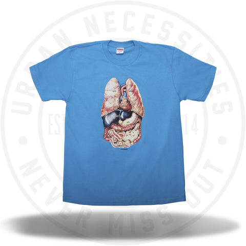 Supreme Guts Tee Bright Blue-Urban Necessities