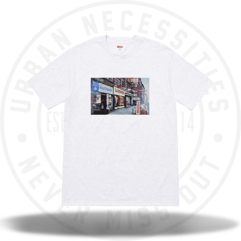 Supreme Hardware Tee Ash Grey-Urban Necessities