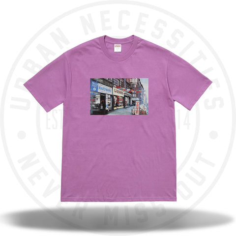 Supreme Hardware Tee Light Purple-Urban Necessities