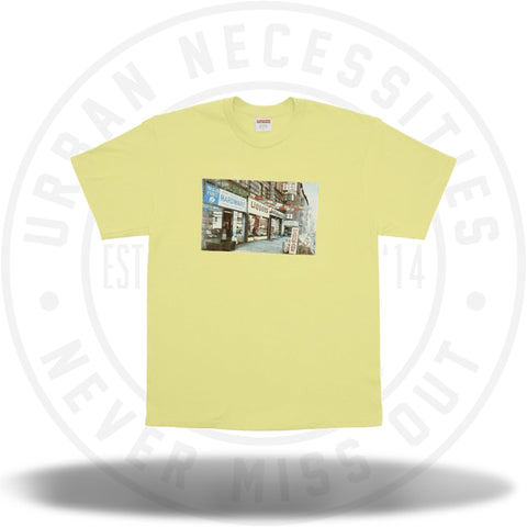 Supreme Hardware Tee Pale Yellow-Urban Necessities