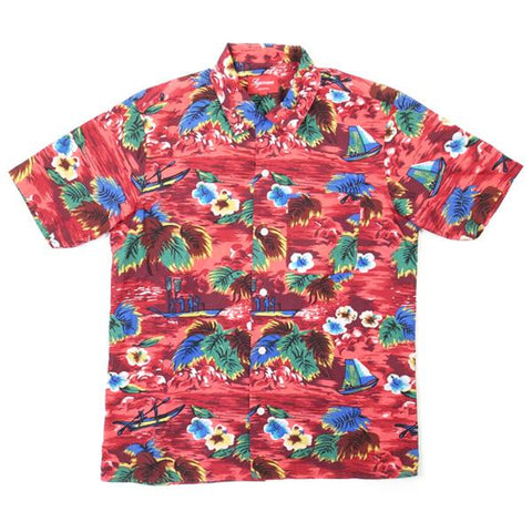 Supreme Hawaiian pattern Aloha shirt-Urban Necessities