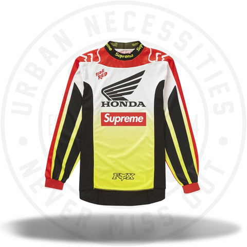 Supreme Honda Fox Racing Moto Jersey Top Red-Urban Necessities