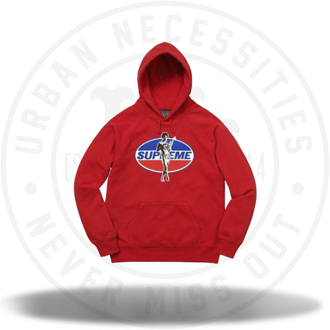 Supreme Hysteric Glamour Hooded Sweatshirt Red-Urban Necessities
