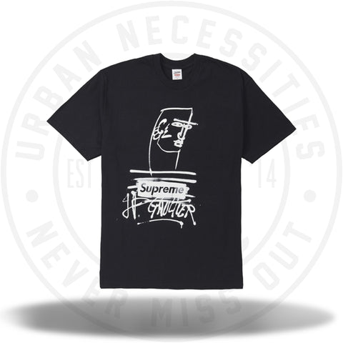 Supreme Jean Paul Gaultier Tee Black-Urban Necessities