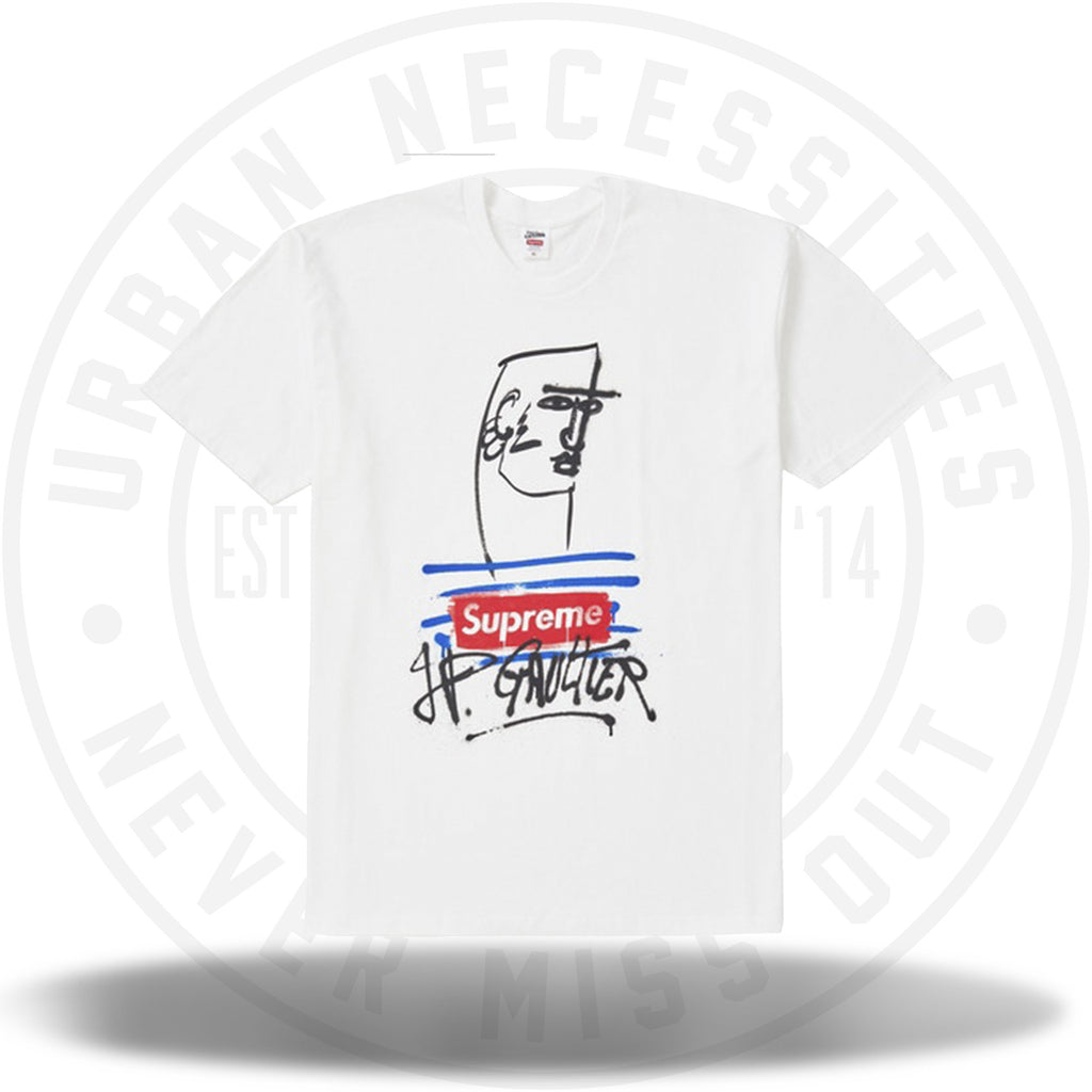 Supreme Jean Paul Gaultier Tee White-Urban Necessities
