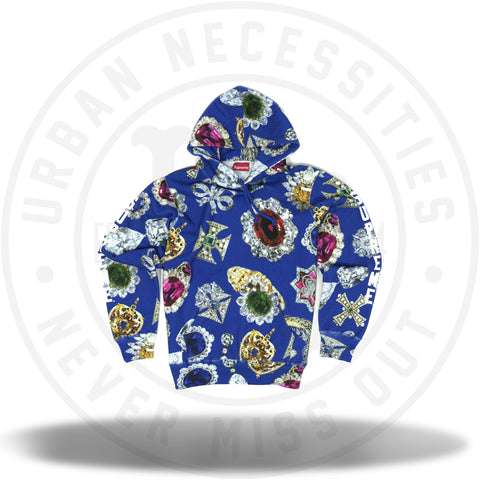 Supreme Jewels Hooded Sweatshirt Royal-Urban Necessities