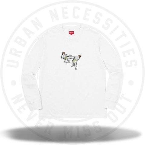 Supreme Karate Tee White-Urban Necessities