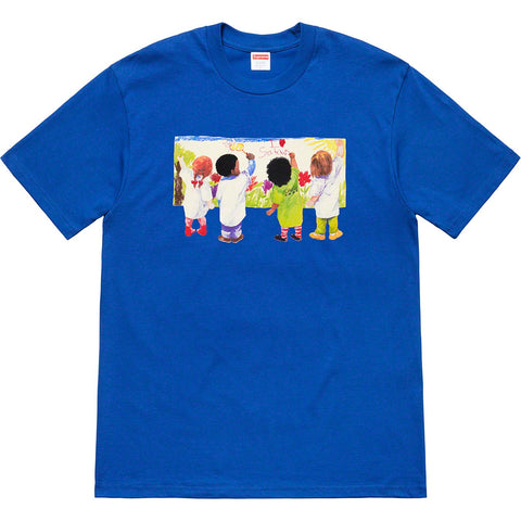 Supreme Kids Tee Royal SS19-Urban Necessities