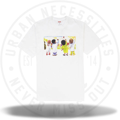 Supreme Kids Tee White SS19-Urban Necessities