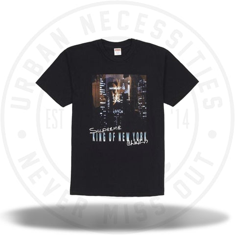 Supreme King of New York Tee Black-Urban Necessities