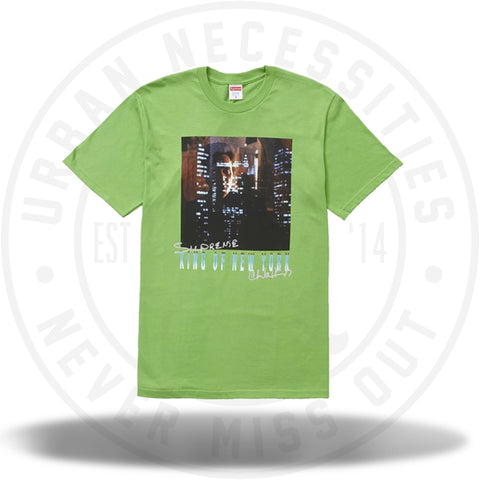 Supreme King of New York Tee Green-Urban Necessities
