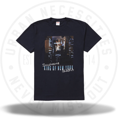 Supreme King of New York Tee Navy-Urban Necessities