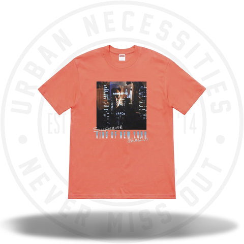 Supreme King of New York Tee Neon Orange SS19-Urban Necessities