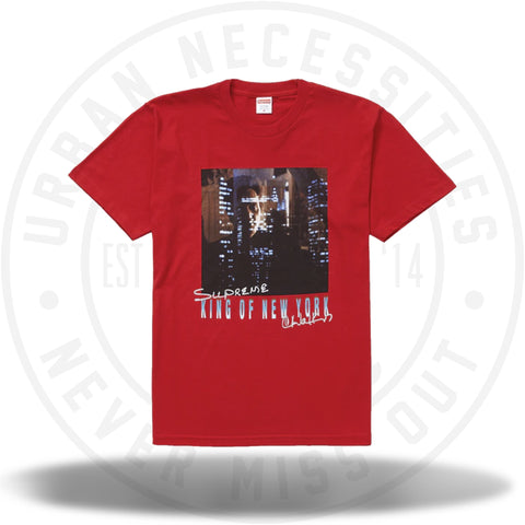 Supreme King of New York Tee Red SS19-Urban Necessities