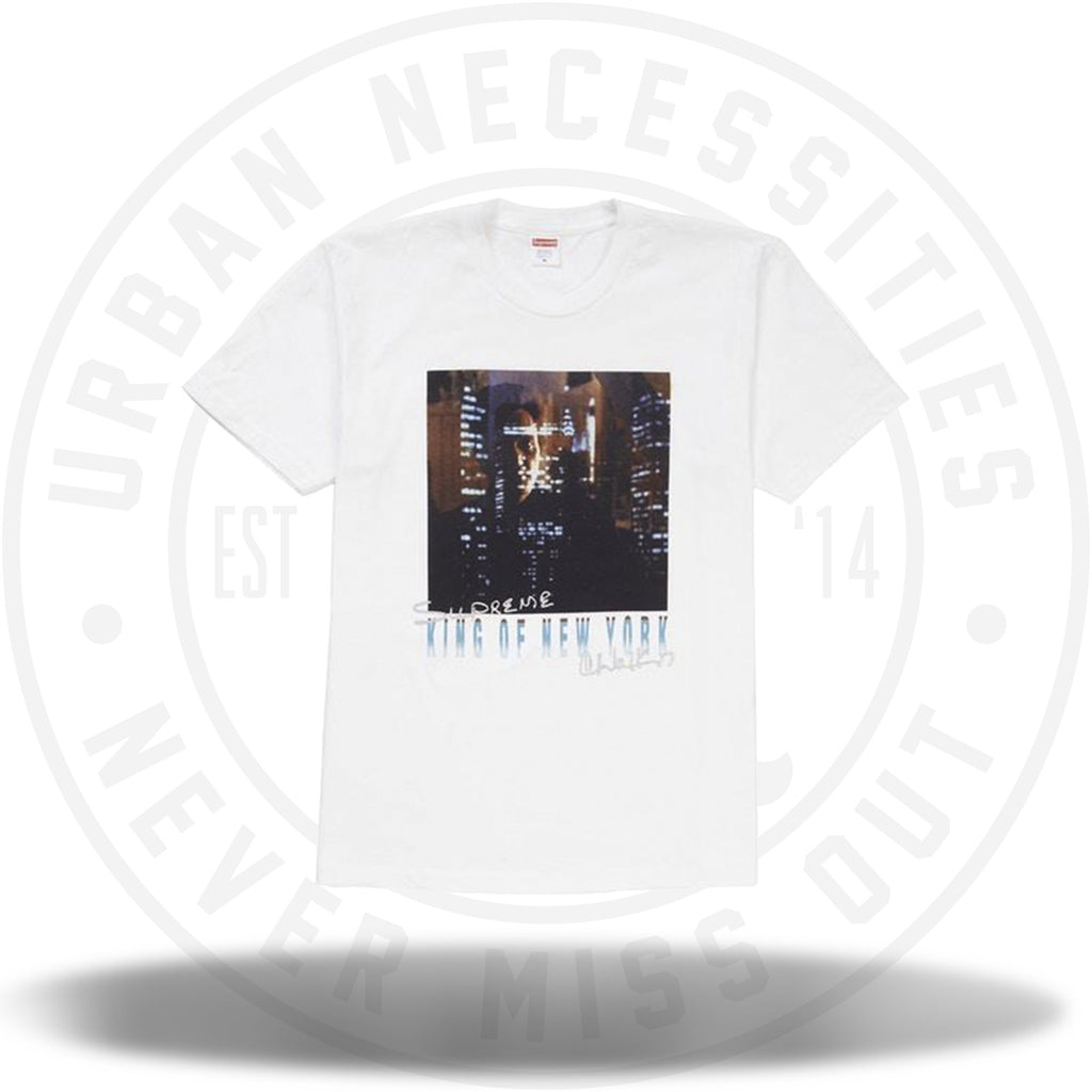 Supreme King of New York Tee White-Urban Necessities