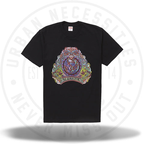 Supreme Knot Tee Black SS19-Urban Necessities