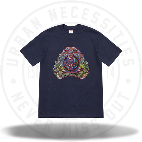 Supreme Knot Tee Navy SS19-Urban Necessities
