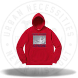 Supreme Know Thyself Hooded Sweatshirt Red-Urban Necessities