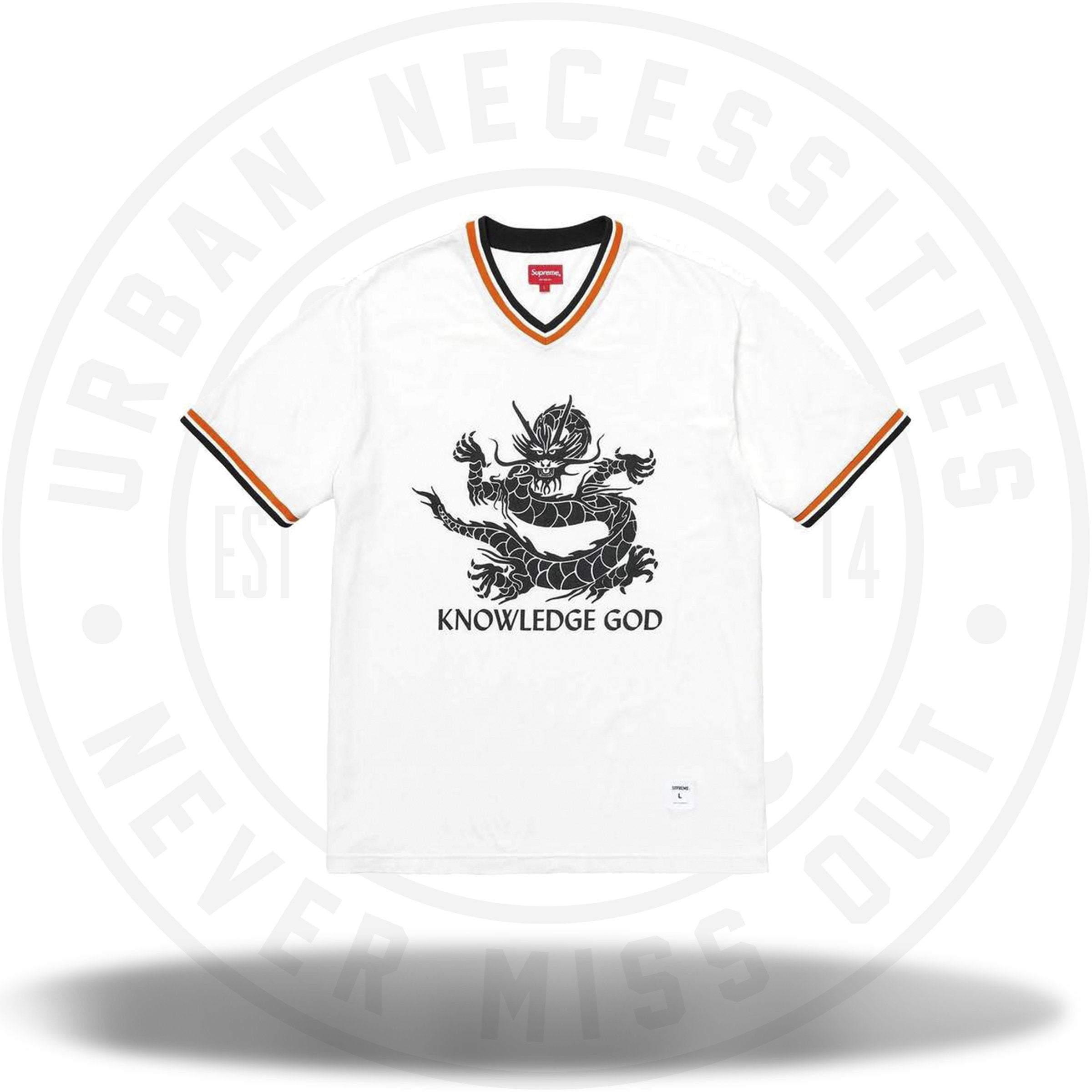 Supreme Knowledge God Practice Jersey White