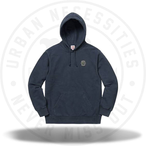 Supreme LACOSTE Hooded Sweatshirt Navy-Urban Necessities