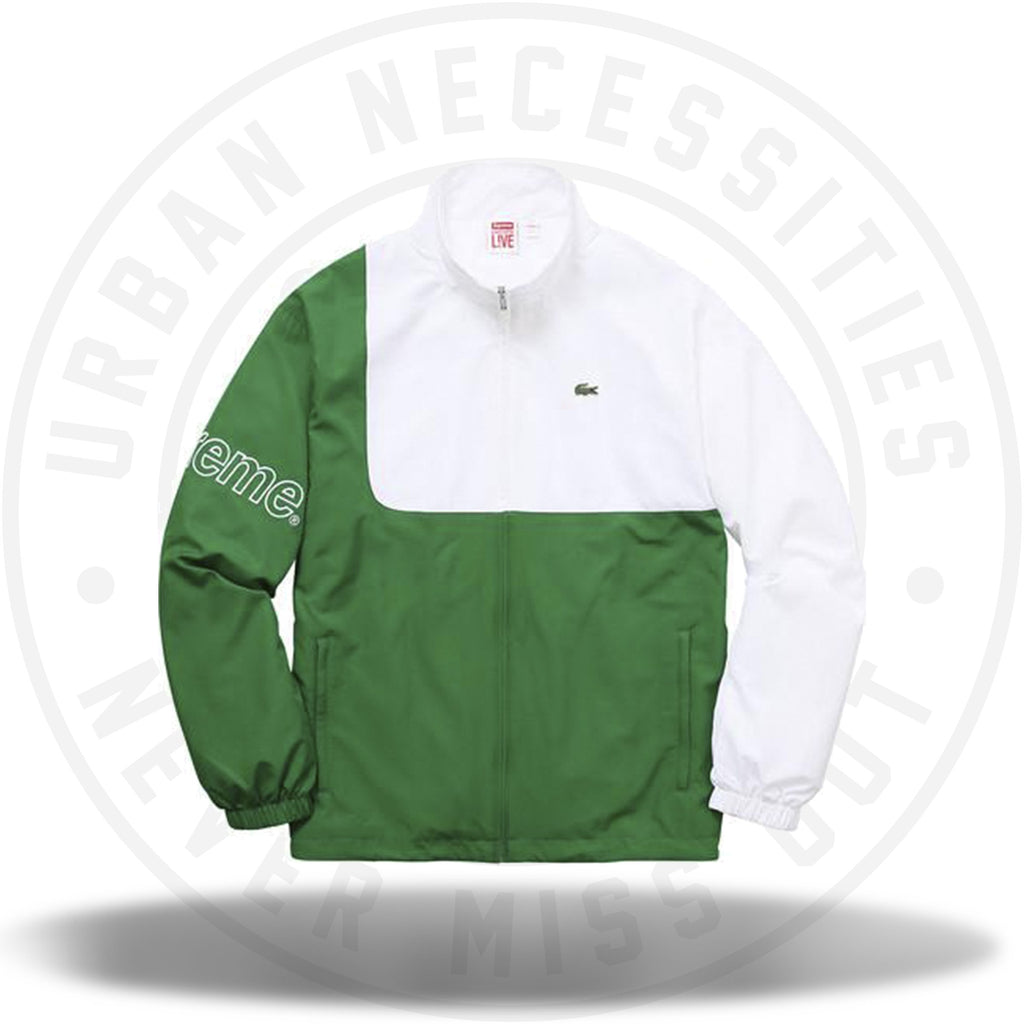 Supreme Lacoste Track Jacket Kelly Green-Urban Necessities