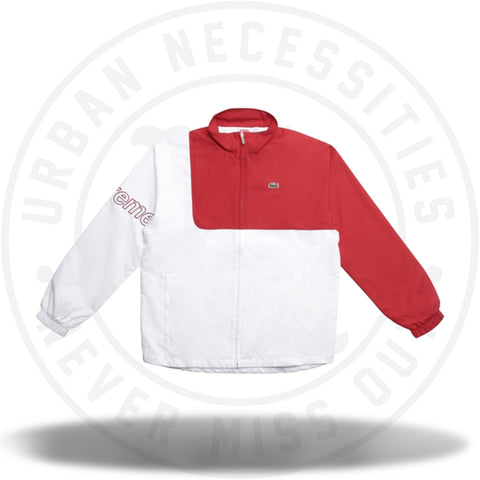 Supreme Lacoste Track Jacket Red-Urban Necessities