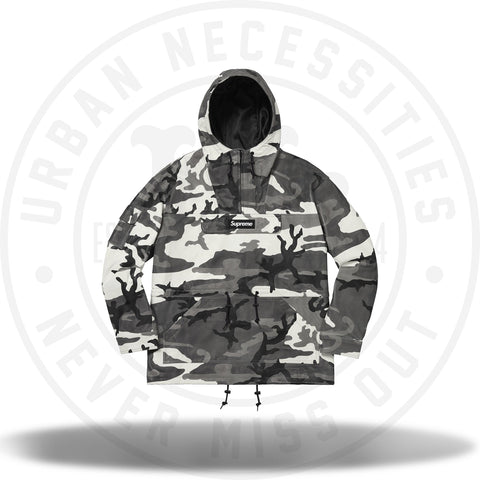 Supreme Leather Anorak Snow Camo-Urban Necessities