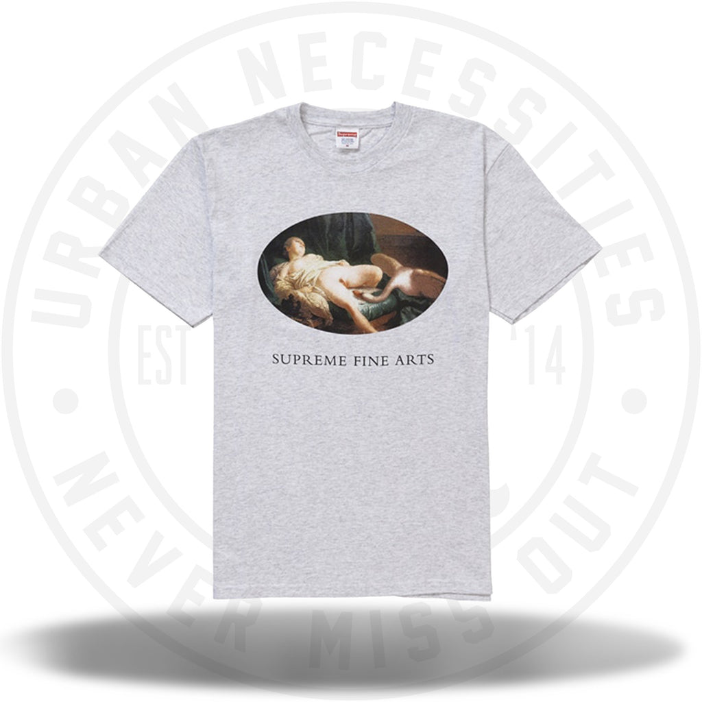 Supreme Leda and the Swan Tee Ash Grey-Urban Necessities