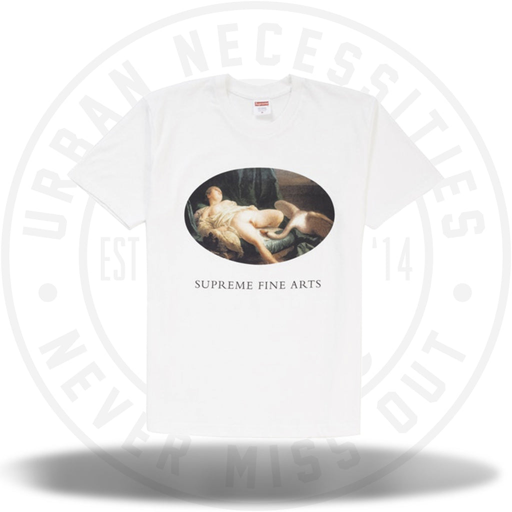 Supreme Leda and the Swan Tee White SS19-Urban Necessities