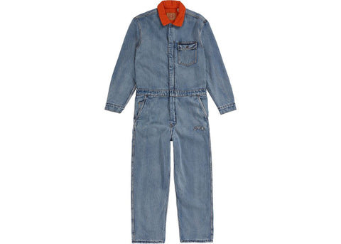 Supreme Levi's Denim Coveralls Blue-Urban Necessities
