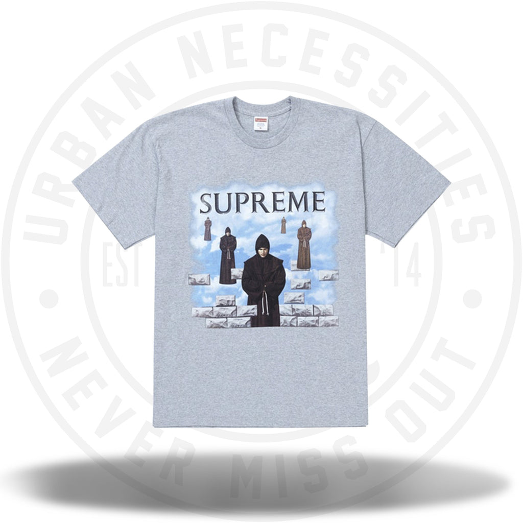 Supreme Levitation Tee Heather Grey-Urban Necessities