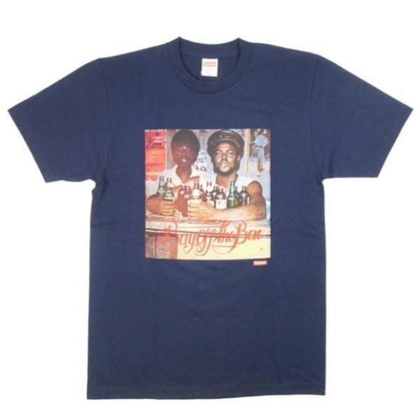 af9d65dc4f99 Supreme Limonious Buy Off The Bar Tee Navy – Urban Necessities