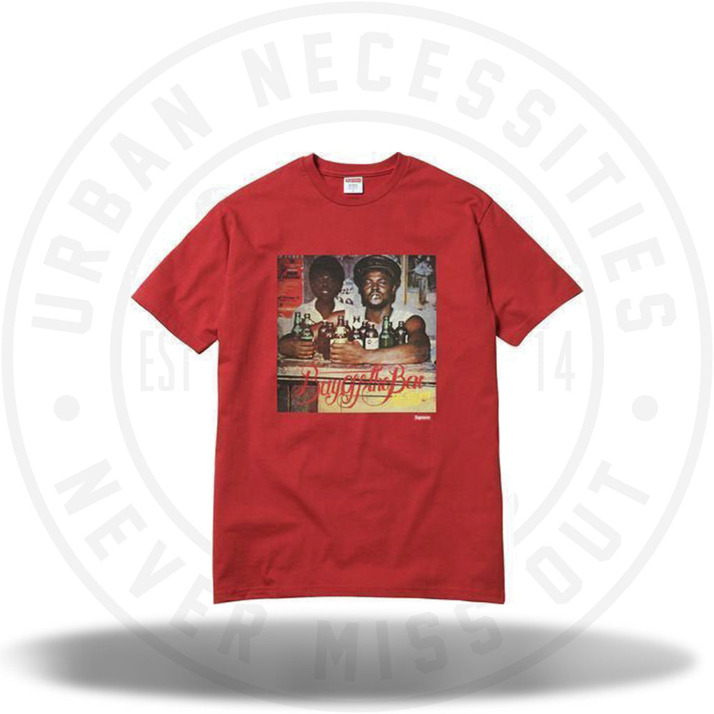 Supreme Limonious Buy Off the Bar Tee Red-Urban Necessities
