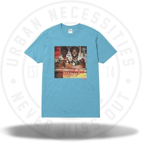 Supreme Limonious Buy Off the Bar Tee Teal-Urban Necessities